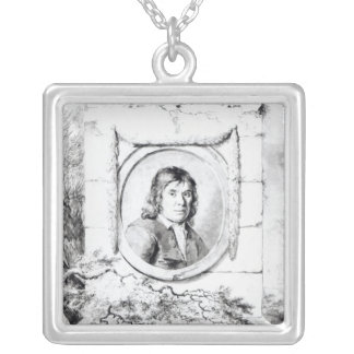 Nicolaes Pietersz Berchem Silver Plated Necklace