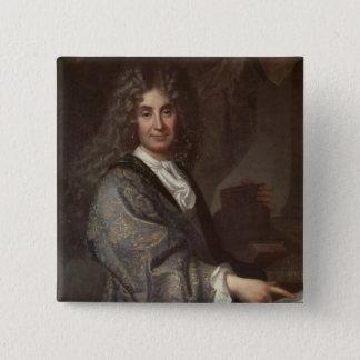 Nicolas Boileau 15 Cm Square Badge