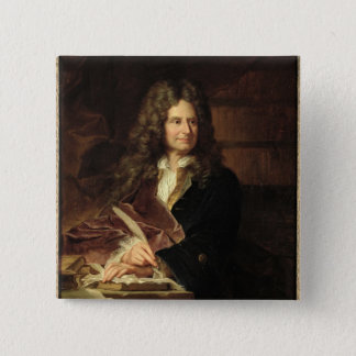 Nicolas Boileau  after 1704 15 Cm Square Badge