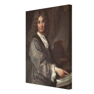 Nicolas Boileau Canvas Print