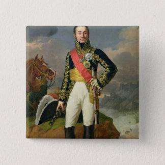 Nicolas-Charles Oudinot  Duke of Reggio 15 Cm Square Badge
