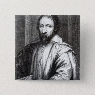 Nicolas Claude Fabri de Peiresc 15 Cm Square Badge