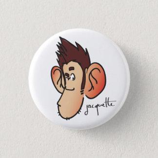 Nicolas jacquette suspicious misadventure 3 cm round badge
