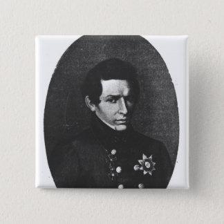 Nicolas Lobatchevsky 15 Cm Square Badge