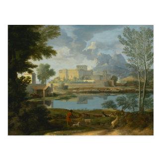 Nicolas Poussin Art Postcard