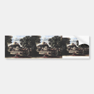 Nicolas Poussin- Ashes of Phocion collected Bumper Sticker