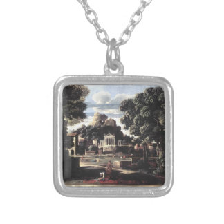 Nicolas Poussin- Ashes of Phocion collected Pendants
