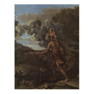 Nicolas Poussin: Blind Orion Searching for the Sun Postcard
