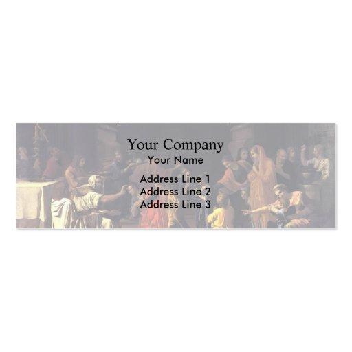 Nicolas Poussin- Confirmation Business Card