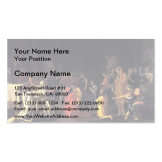 Nicolas Poussin- Confirmation Pack Of Standard Business Cards