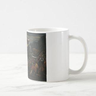 Nicolas Poussin - Hannibal crossing the Alps Coffee Mug