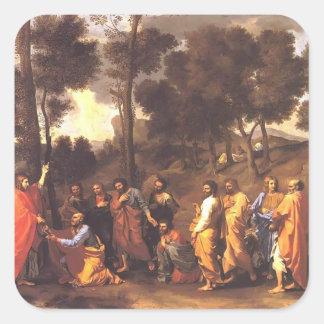 Nicolas Poussin- Ordination Sticker