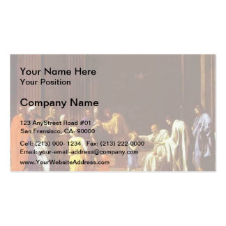 Nicolas Poussin- The Confirmation Pack Of Standard Business Cards