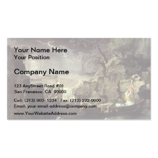 Nicolas Poussin- Winter (The Flood) Pack Of Standard Business Cards