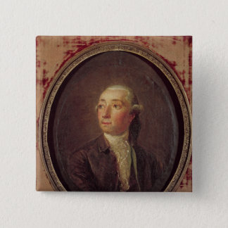 Nicolas Restif de la Bretonne 15 Cm Square Badge
