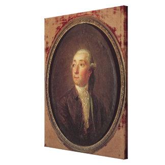 Nicolas Restif de la Bretonne Canvas Print