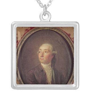 Nicolas Restif de la Bretonne Silver Plated Necklace
