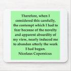 nicolaus copernicus quote mouse mat