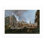 Nicolino Calyo, View of Ruins after the Great Fire Postcards