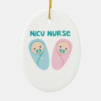 NICU Nurse Christmas Ornament
