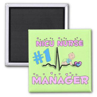 NICU Nurse Manager Gifts Fridge Magnets