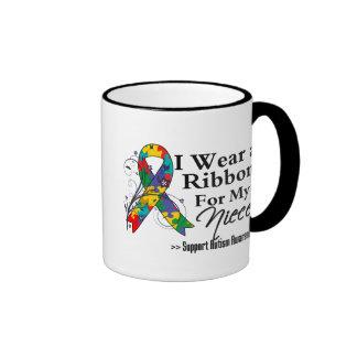 Niece - Autism Ribbon Ringer Mug