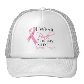 Niece Inspiring Courage Breast Cancer Mesh Hats