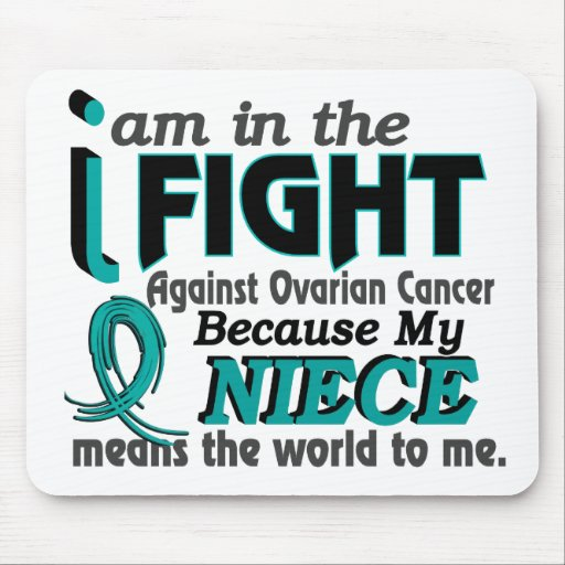 Niece Means World To Me Ovarian Cancer Mouse Pad