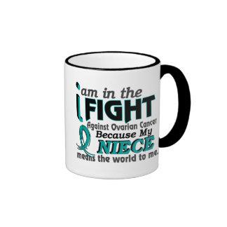 Niece Means World To Me Ovarian Cancer Mug