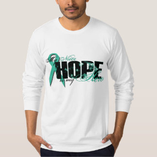 Niece My Hero - Ovarian Hope Tee Shirt