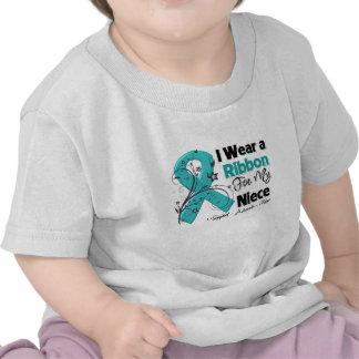 Niece - Ovarian Cancer Ribbon Shirts
