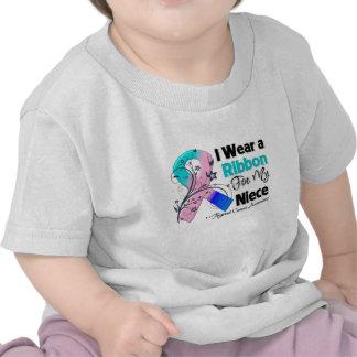 Niece - Thyroid Cancer Ribbon T-shirt