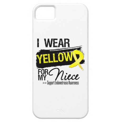 Niece Yellow Ribbon Endometriosis iPhone 5/5S Cases