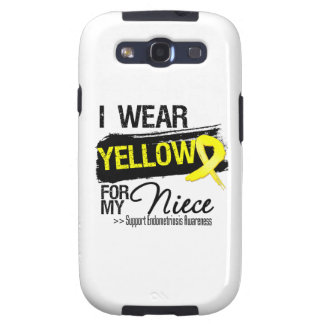 Niece Yellow Ribbon Endometriosis Samsung Galaxy SIII Case