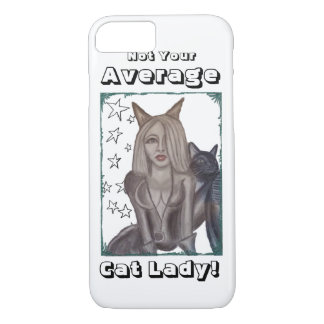 Niecy Catz - Woman iPhone 7 Case