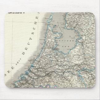 Niederlande, Belgien - Netherlands, Belgium Mouse Mat