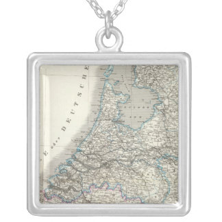 Niederlande, Belgien - Netherlands, Belgium Silver Plated Necklace
