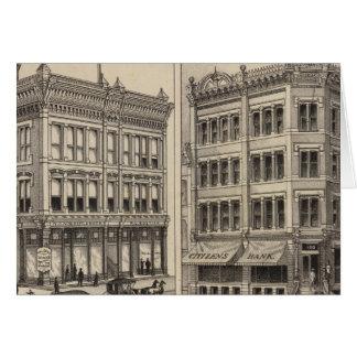 Niederlander and Citizens Bank, Wichita, Kansas Card