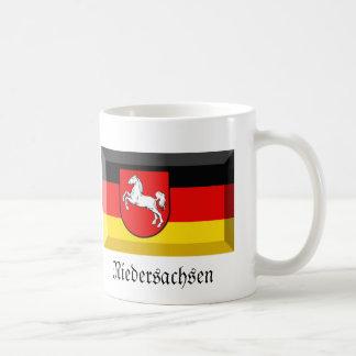 Niedersachsen Flag Gem Basic White Mug