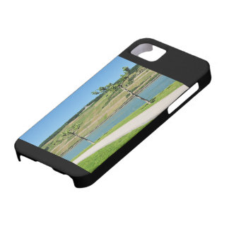 Niederwalddenkmal with coarse home on the Rhine iPhone 5 Covers