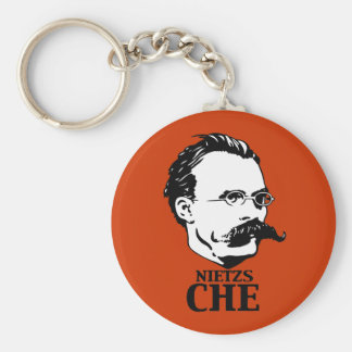Nietzs-Che Key Chain