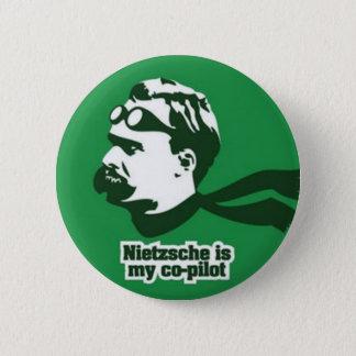 Nietzsche 6 Cm Round Badge