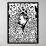 Nietzsche - Art Poster