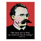 Nietzsche - Art v. Reality Poster