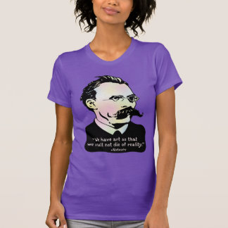 Nietzsche - Art v. Reality T-Shirt