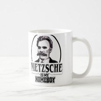 Nietzsche Is My Homeboy Coffee Mug