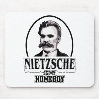 Nietzsche Is My Homeboy Mouse Pad