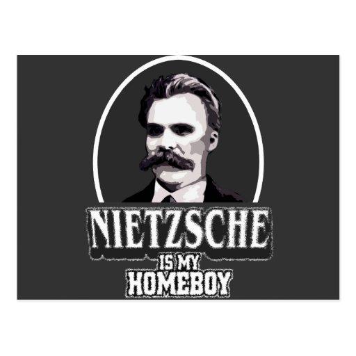 Nietzsche Is My Homeboy Post Card