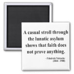 Nietzsche Quote 1a Refrigerator Magnets