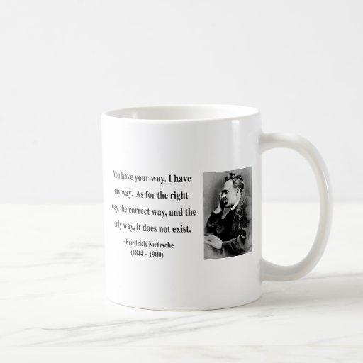 Nietzsche Quote 1b Mugs
